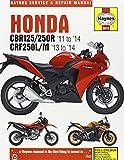 Honda CBR125/250R & CRF250L/M Service and Repair Manual: 2011-2014 (Haynes Service and Repair Manuals)