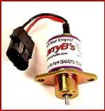 2848A275, SA-4934-12,1457906 Perkins Hyster Diesel Fuel Shut Down solenoid, 12 V