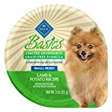 BLUE Basics Limited Ingredient Diet Adult Small Breed Grain Free Lamb & Potato Wet Dog Food 3-oz (Pack of 12)