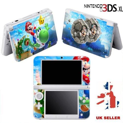 Szone - Skin de vinilo para Nintendo 3DS XL, diseño de Super ...