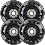 LED Inline Wheels 64mm 82a Skate Roller blade