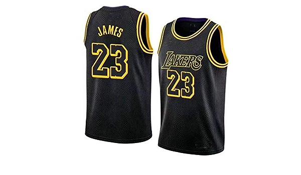Nrkin Camiseta de Baloncesto de Los Angeles Lakers nº 23, de ...