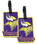 Minnesota Vikings - NFL Soft Luggage Bag Tag - Set of 2