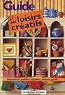 Guide des loisirs creatifs par Le Kiosque à Idées