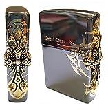 Zippo Side Tribal Cross BI Lighter BI / Genuine Authentic / Original Packing (6 Flints set Free Gift)