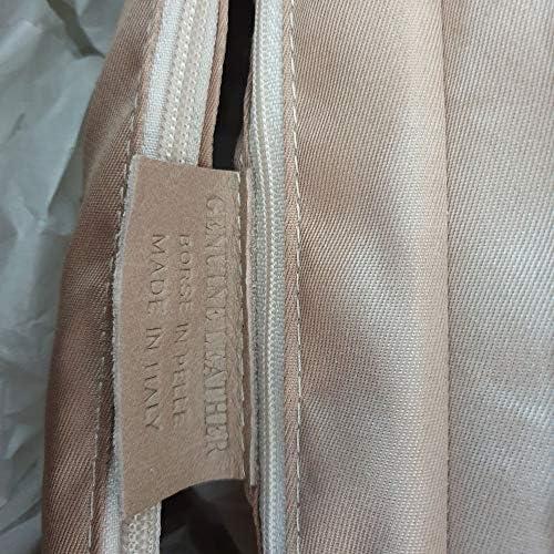 CreaTu Diana Sac à main en cuir véritable pour femme Fabriqué en Italie.