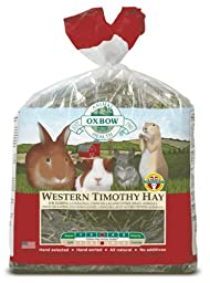 Oxbow Animal Health Western Timothy Hay for Pets, 9-Pound