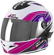 Pro Tork Capacete 4 Racing 58 Rosa/Lilás