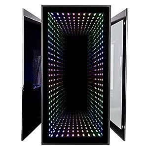 CUK Continuum Mini Gaming PC (Liquid Cooled AMD Ryzen 7 3700X, NVIDIA GeForce RTX 2080 Ti, 32GB RAM, 1TB NVMe SSD + 1TB SSD, 650W Gold PSU, Windows 10 Home) Tiny RGB Desktop Computer for Gamers