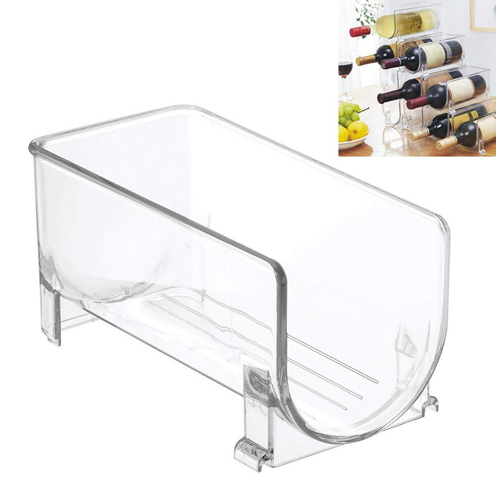 Yzki - Organizador de plástico para Botellas de Vino, para Cocina ...