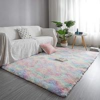 GOOVI Soft Fluffy Area Rug Modern Home Decor Washable Non-Slip Carpet for Bedroom, Living Room, Kids Room, Baby Room...