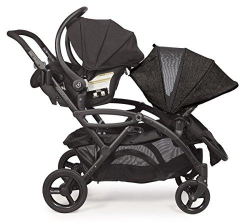 Contours Options Elite Tandem Double Stroller, Carbon by Contours (Image #3)