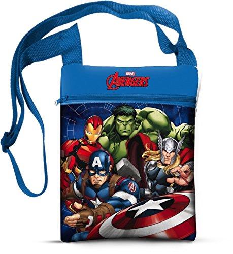 Marvel 41842 Star Licensing Borsa Messenger, 22 cm, Multicolore