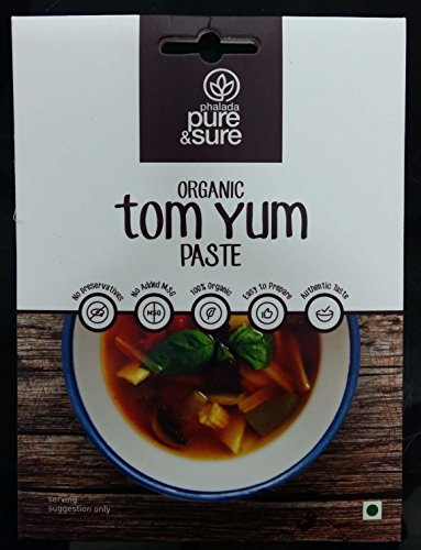 Pure & Sure Organic Tom Yum Paste, 50g