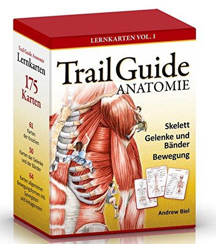 Trail Guide Anatomie - Lernkarten Vol. 1