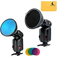 Godox Ad-s11 Witstro Flash Speedlite Accessories Godox Ad180 Ad360 Filter with for Color (Red, Blue, Green, Yellow)