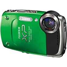 Fujifilm FinePix XP20 Green 14 MP Digital Camera with 5x Optical Zoom and 2.7-Inch LCD
