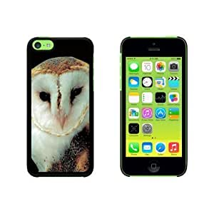 Barn Owl - Bird Snap On Hard Protective For Iphone 5C Phone Case Cover - Black