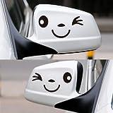 Happy Bargains Ltd Domire–la Panda Tallada Coche Pegatinas Resistente al Agua
