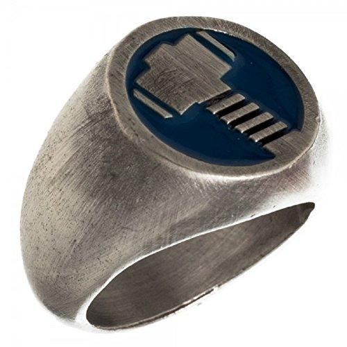 Marvel Comics Superhero Rings (Large (9.5), Thor Mjolnir)