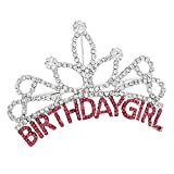 Birthday Girl Mini Tiara Hair Comb Silver - Best Reviews Guide