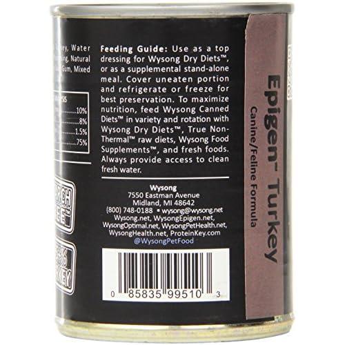 Wysong Epigen Turkey Caninefeline Canned Formula Dogcatferret