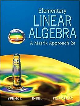 Book Elementary Linear Algebra (2nd Edition)