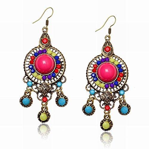 tribal-ethnic-round-lucite-chandelier-resin-beads-bubble-dangle-hook-earrings