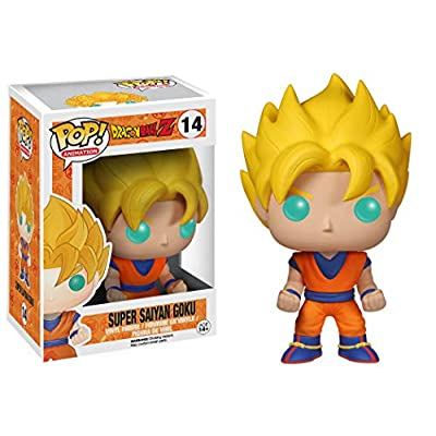 Funko POP! Dragon Ball Z Vinyl Figure Super Saiyan Goku: Funko Pop! Animation:: Toys & Games