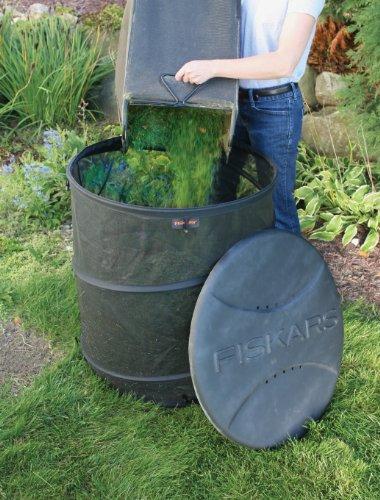 046561157050 - Fiskars 75 gallon Eco Compost Bin (5705) carousel main 2