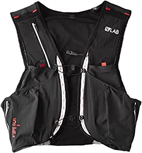 Salomon S-Lab Sense Ultra 5L Hydration Vest Black/Racing Red, XS