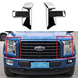 Automotive : Chrome ABS Front Bumper Headlight & Grille Cover Decor Trim for Ford F150 2015+