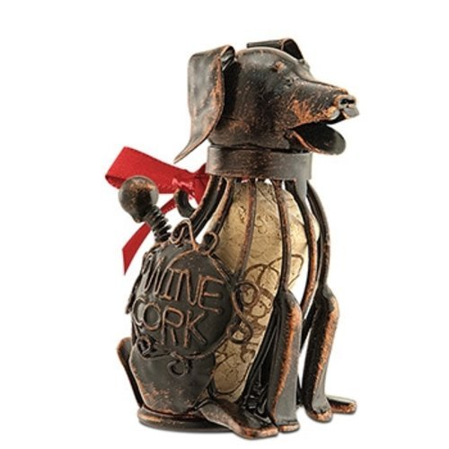 Epic 02-176 Corky the Dog Wire Design Ornament with Ribbon a