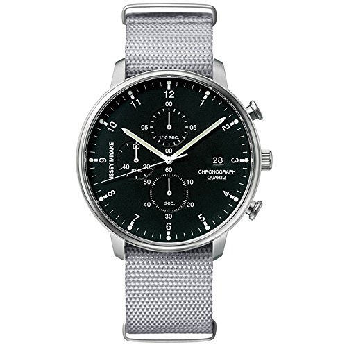 ISSEY MIYAKE watch Men's C Sea Ichiro Iwasaki design chronograph NYAD005