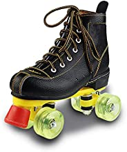 Quad Roller Skates Professional for Men Racing Skates Double Row High-top Design Thickened Plastic Steel Brack