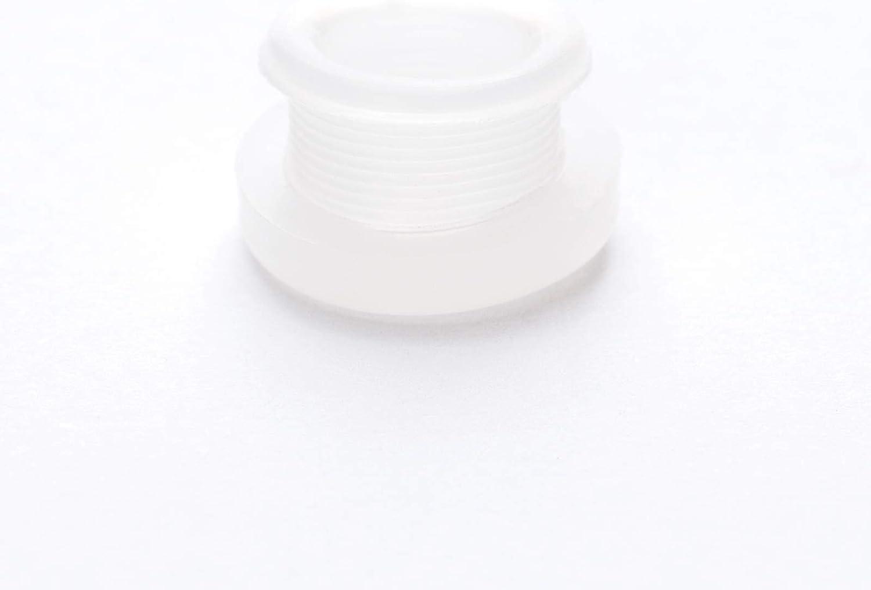 10x T/üllen Durchgangst/ülle Kabelt/ülle Gummit/ülle Kabeldurchf/ührung PVC Leuchten 8mm schwarz