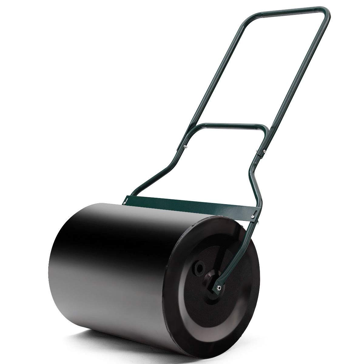 King77777 Heavy Duty Poly Push Tow Lawn Roller Poly Practical Functional Useful Compact Size Portable Beautiful and Fashionable Color