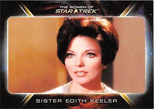 (Joan Collins trading card Women of Star Trek #7 Edith Keeler)