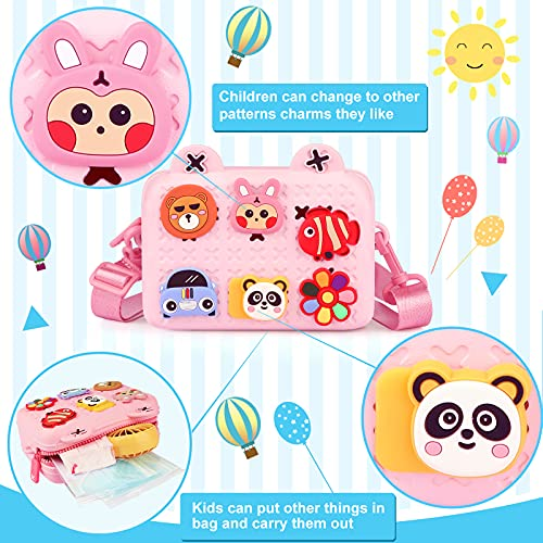 Sensory Fidget Toy Set, 37pcs Fidget Box Stress Relief Toy, Fidget Toy Pack with Bubble Infinity Cube Marble Mesh, Fidget Set with Bag for Adults Kids Autistic ADHD Toys Birthday Party Favors (Pink)