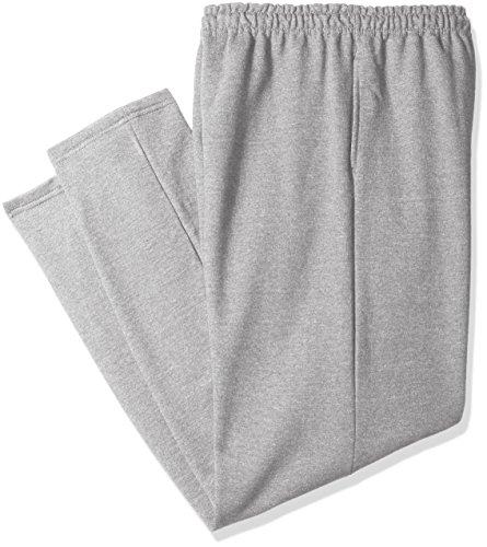 Gildan Men's Big and Tall Fleece Open Bottom Pocketed Pant, Sport Grey, XX-Large