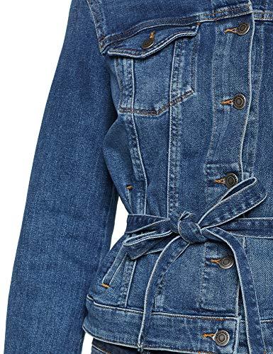 420 Women's Blue Medium Blue Jacket BOSS Casual Denim 0nfq5f