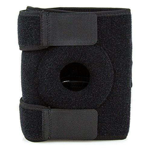 SportZsupport Knee Support, Open-Patella Brace for Arthritis, Joint Pain Relief, Injury Recovery with Adjustable Strapping & Breathable Neoprene