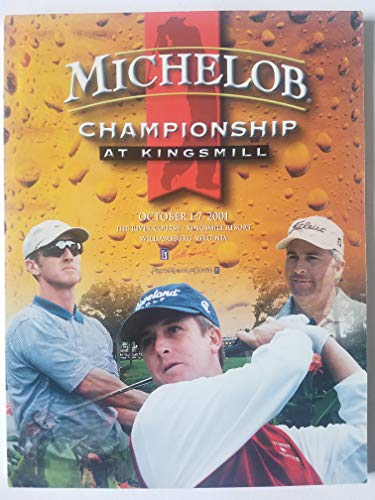2001 Michelob Championship at Kingsmill Official Tournament Program ()