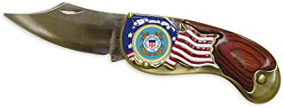 product image for Armed Forces Colorized Quarter Pocket Knife - Coast Guard