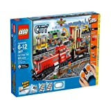 remote control broom - LEGO Train Set #3677 Red Cargo Train