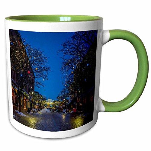 3dRose 214797_7 Church Street Burlington Vermont Ceramic Mug, - Outlet Burlington Vermont