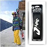 Skiweb Classic Hands Free Ski Strap - The Easy to use ski carrier