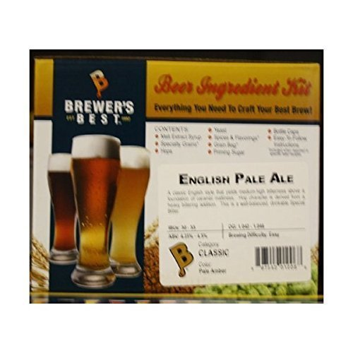 Brewer's Best English Pale Ale Homebrew Beer Ingredient Kit -