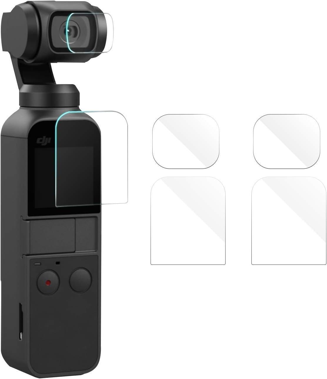 Osmo Pocket Accesorios Multifuncional Expansi/ón 1//4 Pulgada Tornillo Adaptador con Mochila Estabilizador de Clips Konee Kits de Accesorios pour dji OSMO Pocket