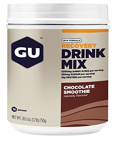 GU Energy Recovery Protein Drink Mix, Chocolate Smoothie, 1.86 Pound by GU Energy Labs